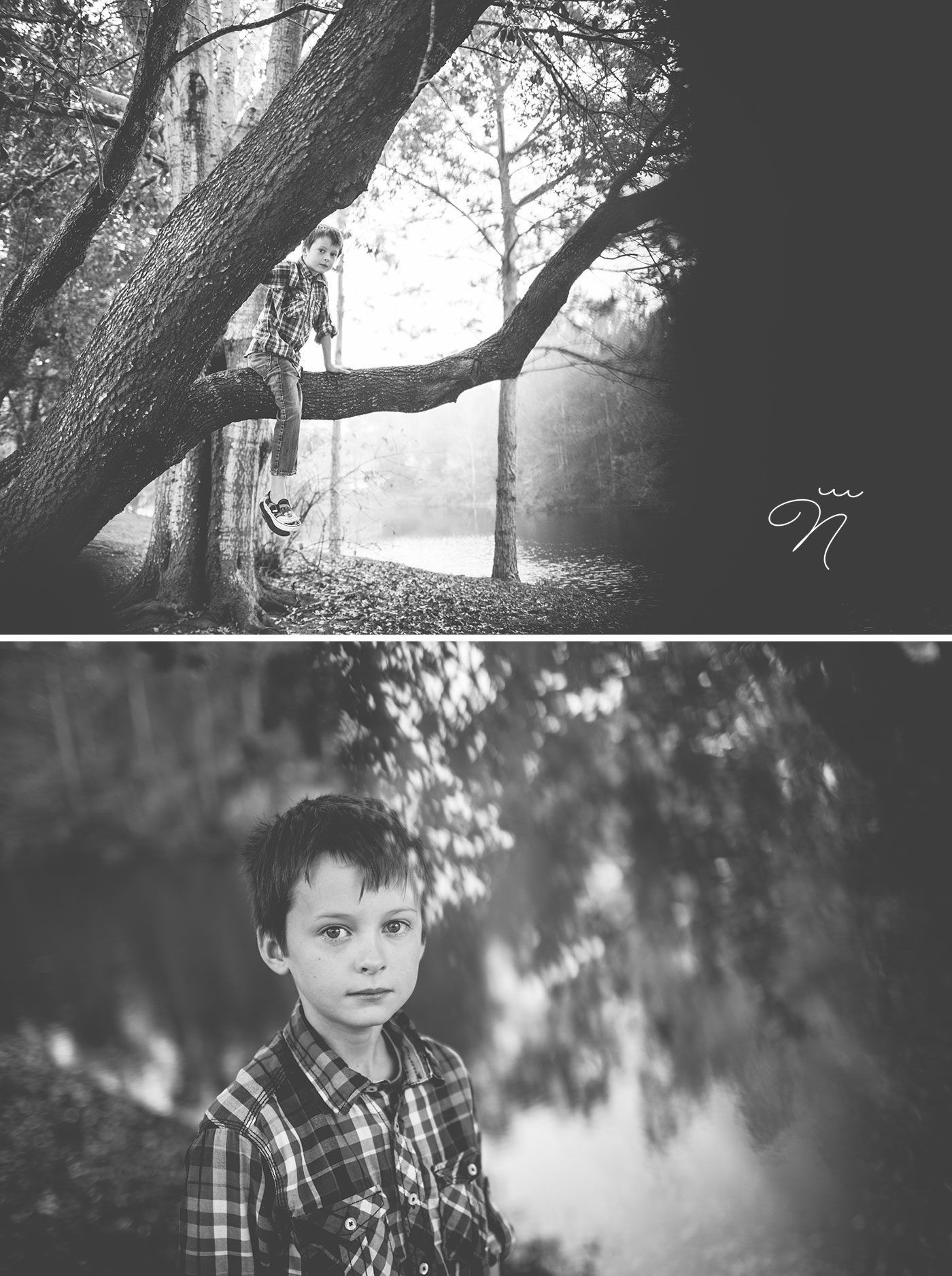 Foggy Day Family Photography Session near Sandestin