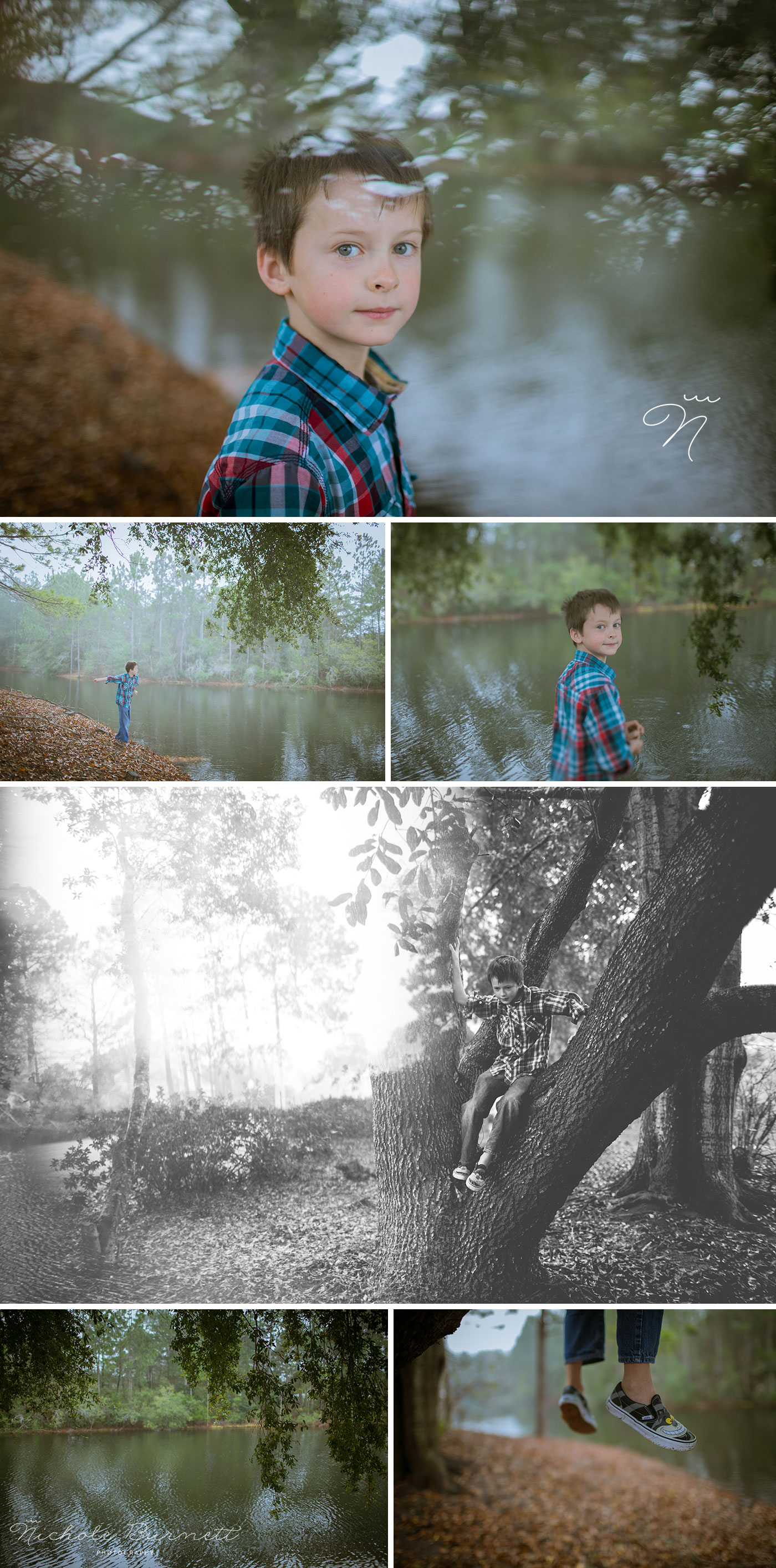 Foggy Day Family Photography Sessions Sandestin