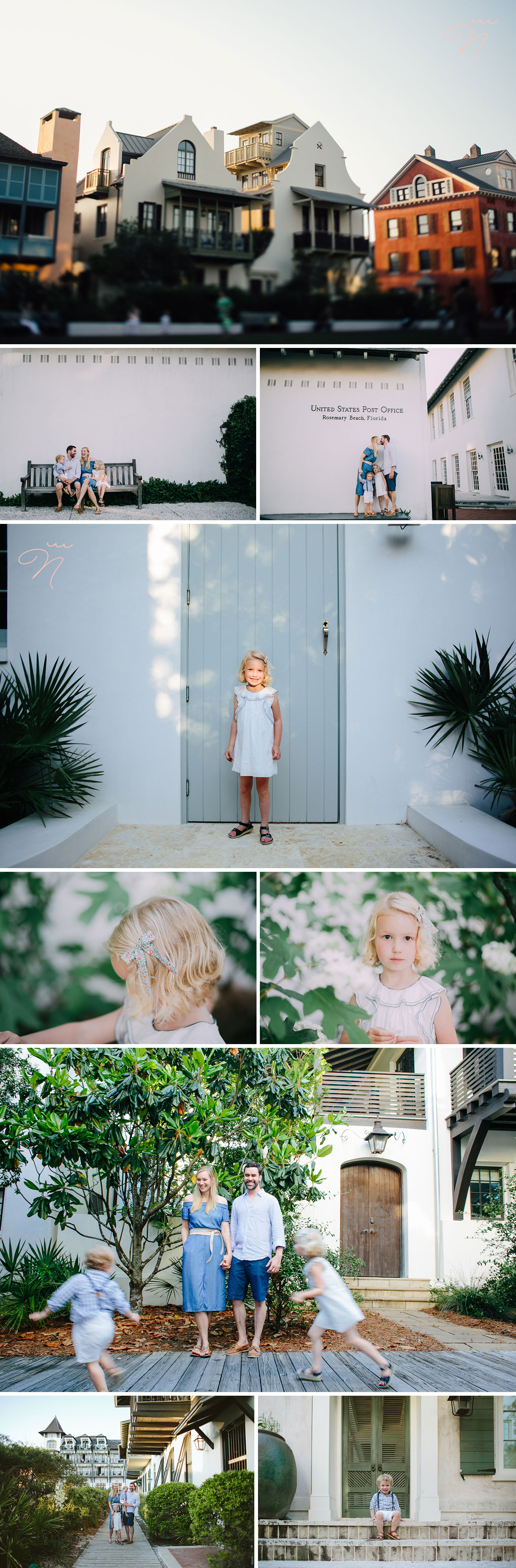 Rosemary Beach Family Photography